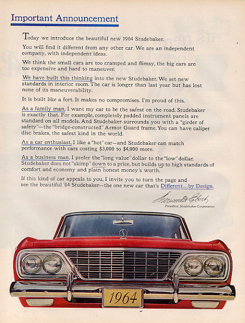 1964 Studebaker Cruiser